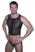 Sexy Netz Shirt mit Slip ❘ geiles Herren Fetisch Top