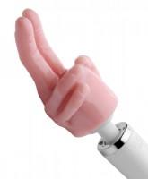 Wand Massager Attachments ❘ 2 Finger Aufsatz