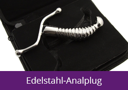 Edelstahl Analplug