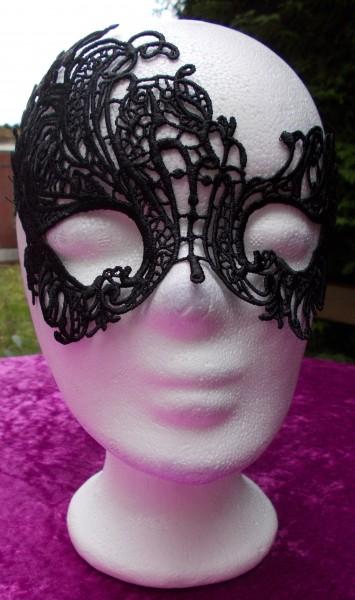Filigrane Augenmaske aus weicher Spitze