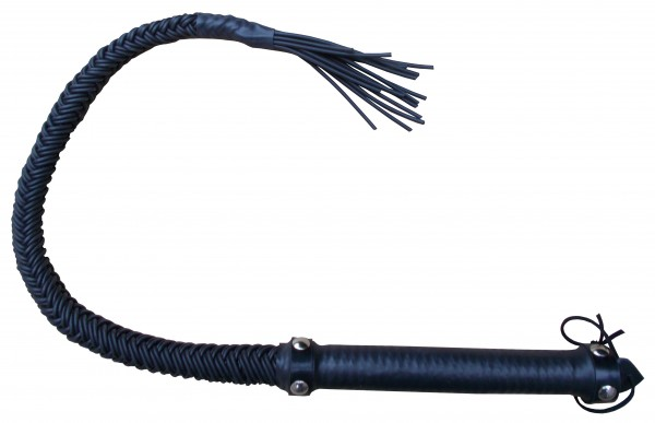 SM Peitsche - Riemenpeitsche Single Tail aus Gummi
