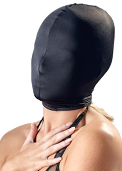 Geschlossene Kopfmaske ★ Atmungsaktiver leichter Stoff