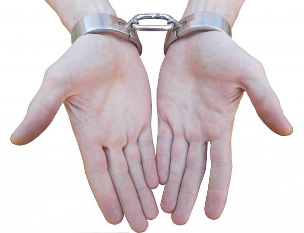 Edelstahl Handfesseln in 2 verschiedenen Größen