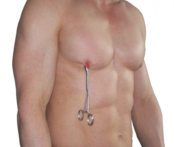 Nippelzange ❘ Brustwarzenzange mit Etui ❘ SM-Spielzeug