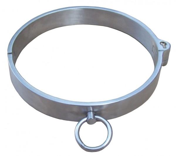 Halsfessel aus matten Edelstahl ❘ 2 Größen verfügbar