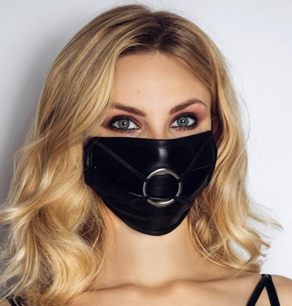 Mund- & Nasenschutz mal anders - Fetisch Maske