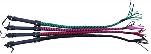 Paracord Single Tail ❘ Riemenpeitsche in verschiedenen Farben