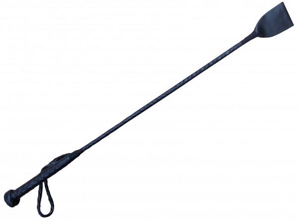 Schwarze Ledergerte ❘ Spanking BDSM Gerte aus Rndsleder