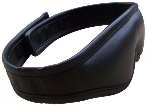 BDSM Augenmaske Leder ❘ blickdicht ❘ mit Klettverschluss ❘ SM-Shop