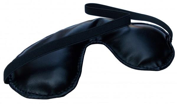Leder Augenmaske mit Gummiband ❘ Fetisch & SM Toys