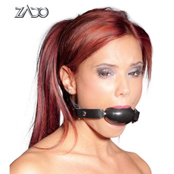 Harter günstiger Mundknebel aus Kunststoff ❘ Fessel Shop