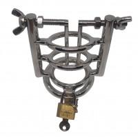 Peniskäfig Hodenring mit Harnröhrenspreizer ❘ Bondage Toy