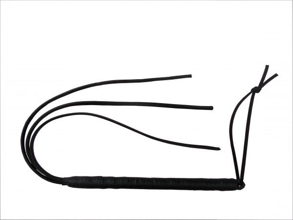 Kleine 3 Tails Lederpeitsche für sanfte & böse Hiebe