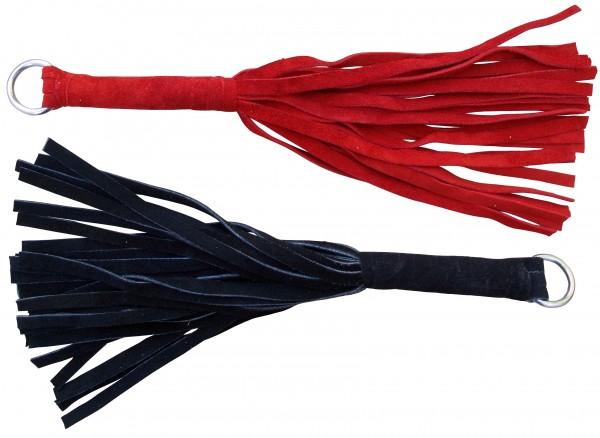 Kleiner Wildlederflogger in zwei Farben - SM Spanking Toy