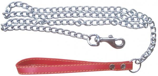 BDSM Führungsleine ❘ Edelstahl mit roter Schlaufe ❘ SM Toy