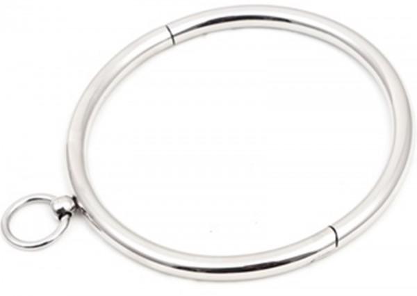 Edelstahl Sklavenhalsband mit O-Ring ♥ mehrere Größen